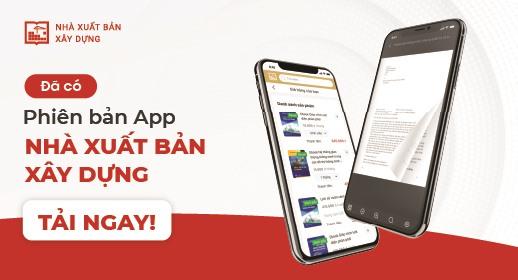 Banner ra mắt App NXB Xây Dựng